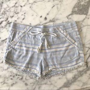Jolt linen shorts